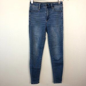American Eagle Super Stretch Skinny Jeans 00 Long